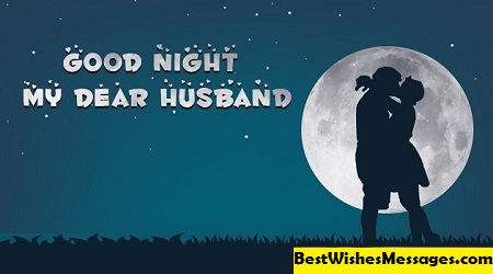 Good Night Wishes for Husband