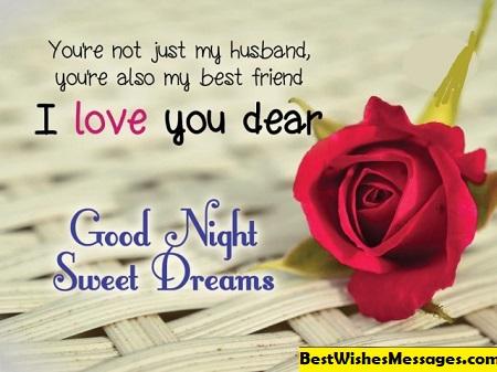 good night husband wife images