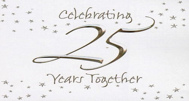 25TH years together