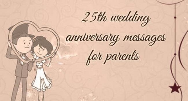 25th-parents-wedding-anniversary-message